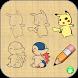How To Draw Pokemon StepByStep by Yuyu School