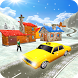 Taxi driver 3D Snow season by HighLogix