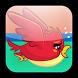 Flying Red Bird by Makilaro