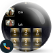 Dusk Gold Dialer Contact Theme by Themes Messages Contacts Dialer by Double L