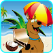 super scooby dog run beach by free game 4 kids