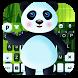 3D Cartoon Panda Keyboard Theme