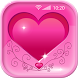 Pink Hearts Live Wallpapers by Cool Nano Apps