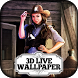 3D Wallpaper Wild West Outlaws by Beautiful 3D Live Wallpapers by Difference Games