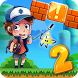 Gravity Super World of Dipper Falls Jungle by Jack 64 Platformer Games Inc.