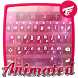 Pink Glass Keyboard by Neon keyboards