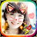 Cat Face - Photo Editor Effects & Filter & Sticker by Snack on Screen #Ran, Rắn trên màn hình điện thoại
