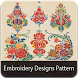 Embroidery Design pattern by 420apps