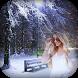 Snowfall Photo Frame by Framozone