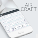 Air Craft Keyboard Theme by Echo Keyboard Theme