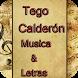Tego Calderón Musica&Letras by CactusDeveloper