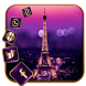 Gold Paris Love Wallpaper by Cool Launcher Theme
