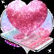 Glitter Love Sparkle Theme by AllIn Themes App