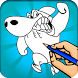 Coloring Book for Sharko ???? by Ben Developer
