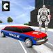 Police Limo Robot Transform by Confun GameStudio