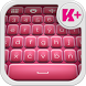 Pinky Keyboard Theme by creativekeyboards