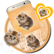 Cute Fluffy Cat Keyboard Theme by Keyboard Theme Factory