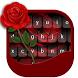 Black Rose keyboard theme