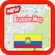 Ecuador Map and Geography by Kingdom App 1988