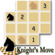 Chess Puzzle - Knight's Move by Andrii Ksenych