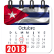 Calendario 2018 cuba dias feriados no laborables by Appsamimanera