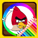 Coloring Book For Angry Birds by Coloring For Relax