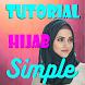 Tutorial Hijab Simple by clara mediatech