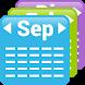 My Month Calendar Widget by Sergio Viudes