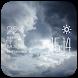 Cloudy weather widget/clock by Widget Studio