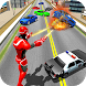 Flying Superhero Robot Rescue 3D
