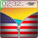 Usa Zipper ScreenLock by FreeLockApps