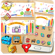 Back To School Colorful Painting Theme