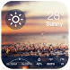 Current weather & forecast wid by