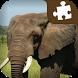 Elephant Jigsaw Puzzle by Damianz