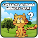Awesome Animals Memory Game by draive