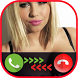 free fake call /sms girl prank by High Level Inc.