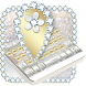 Luxury Gold & Silver Keyboard by Best Free Android Themes