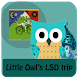 Little Owl's Acid Trip by Marija