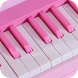 Pink Piano by Bilkon