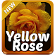 Yellow Rose Keyboard by SuperColor Themes
