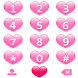 THEME PINK HEARTS FOR EXDIALER