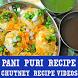Pani Puri Recipe VIDEO App/Chutney Making Recipe