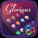 Glorious GO Launcher Theme by ZT.art