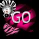 GO SMS - Pink Zebra SMS 4