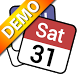 Status bar Calendar Demo by JINASYS