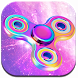 Neon Fidget Spinner Theme by Cool Wallpaper