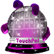 Pink pigment TouchPal Skin by New Themes