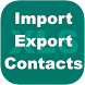 Export Import Excel Contacts by Full Offline Apps