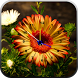 Flowers Clock Live Wallpaper by STECHSOLUTIONS