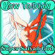 How To Draw Super Saiyan God by DrawingStyles